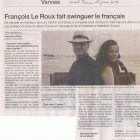 OUEST FRANCE INTERVIEW 25 JUIN 2013