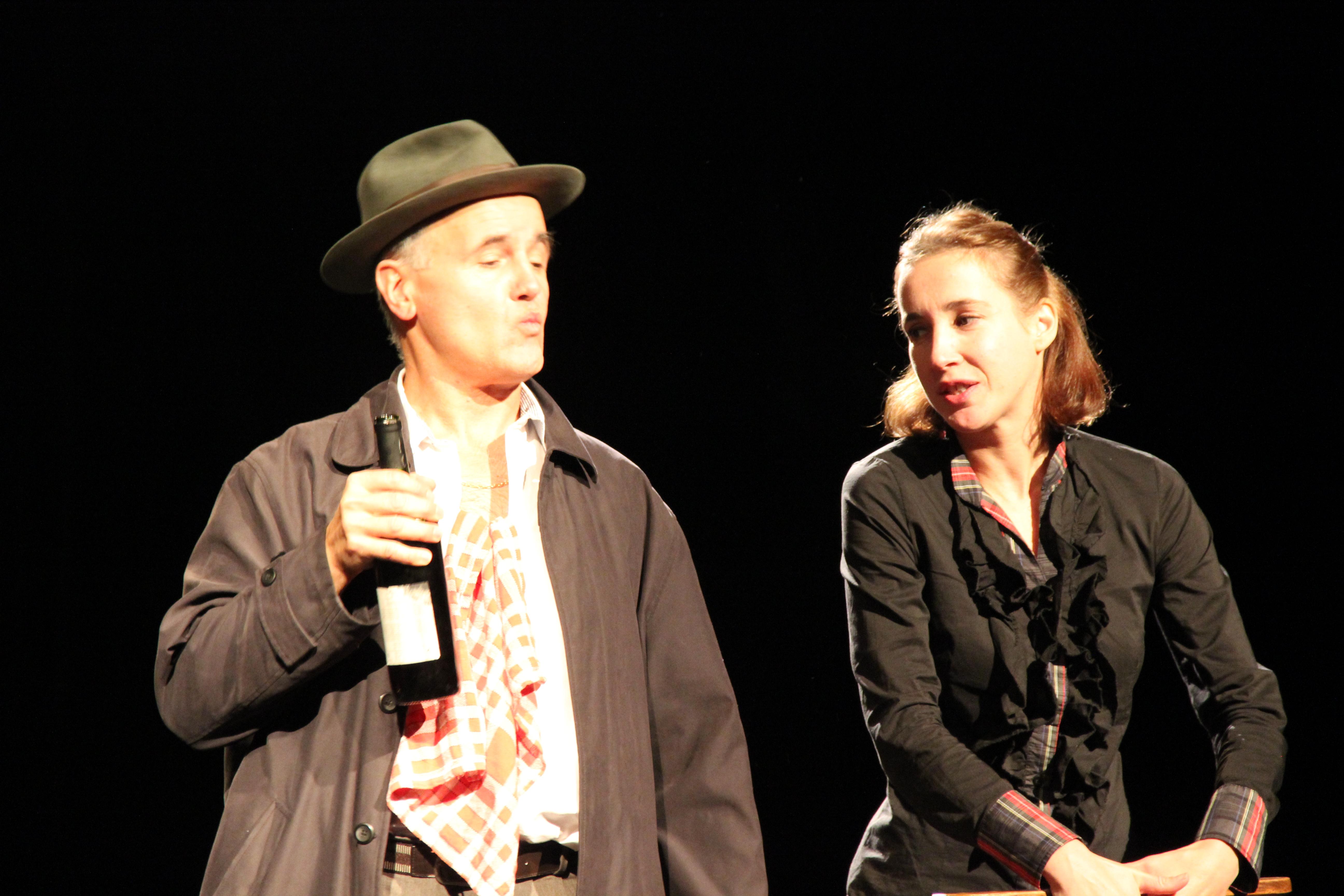 François LE ROUX & Ségolène POINT dans L'EVANGILE SELON PAULO photo 1