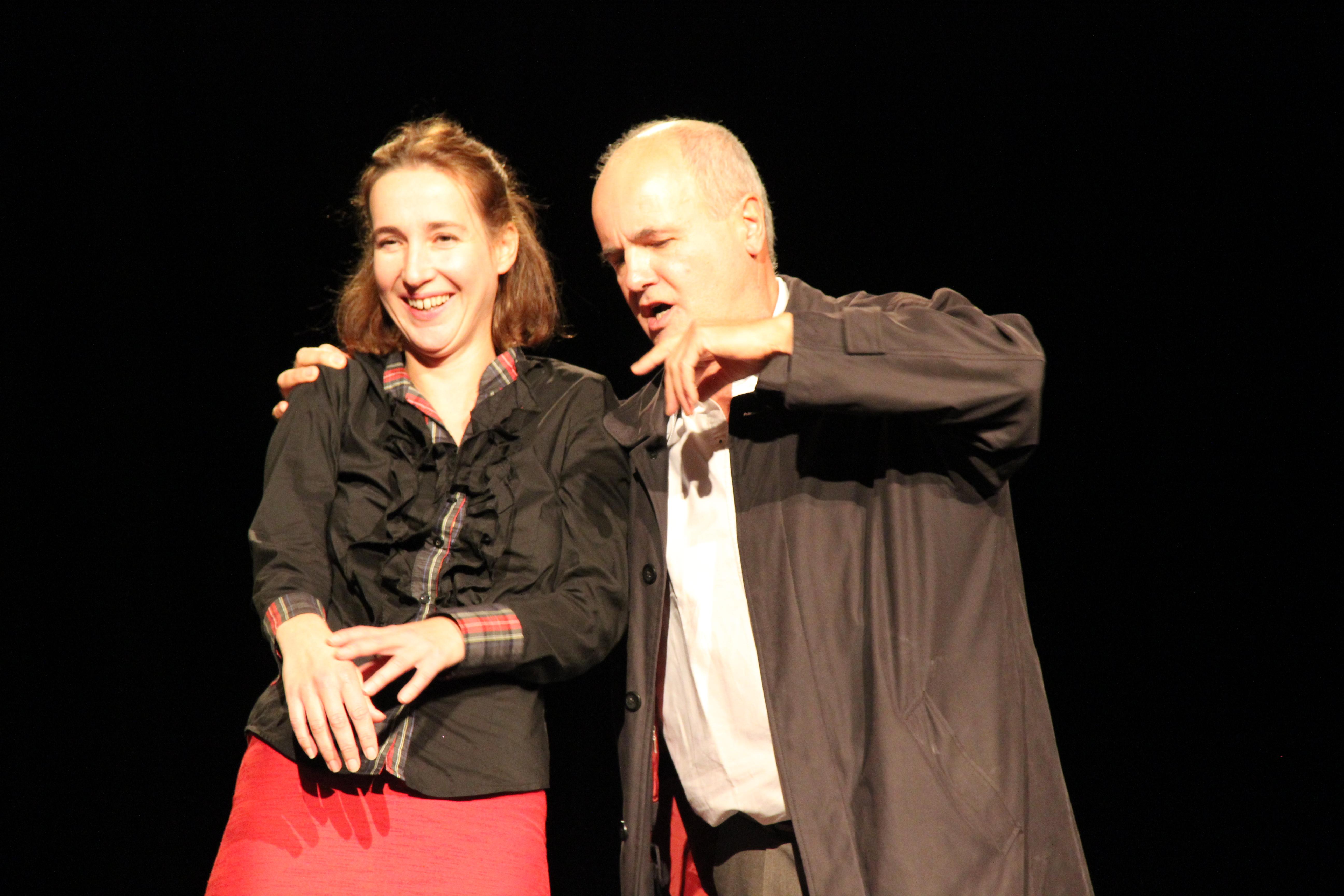 Ségolène POINT & François LE ROUX dans L'EVANGILE SELON PAULO photo 2